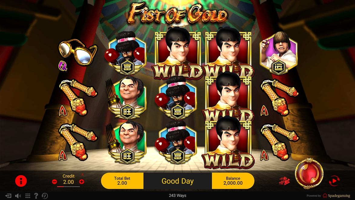 Fist of Gold | Games | Spadegaming | Asia Top Online Slot Games